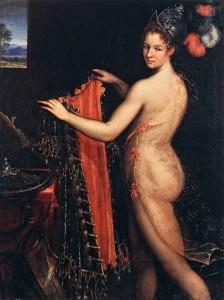 Lavinia-Fontana's-Minerva-Dressing